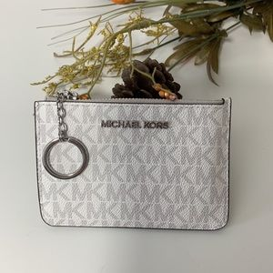 Michael Kors JST Small Top Zip Coin Pouch